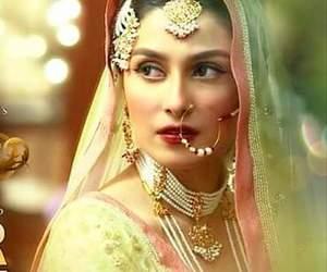 bridal look and aaiza khn image