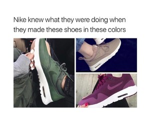 addiction, nike, and shoes image