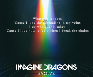 Lyrics, music, and quote image