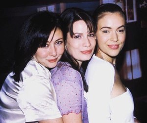 1990s, shannen doherty, and young and beautiful image