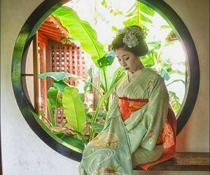 asia, geisha, and japan image
