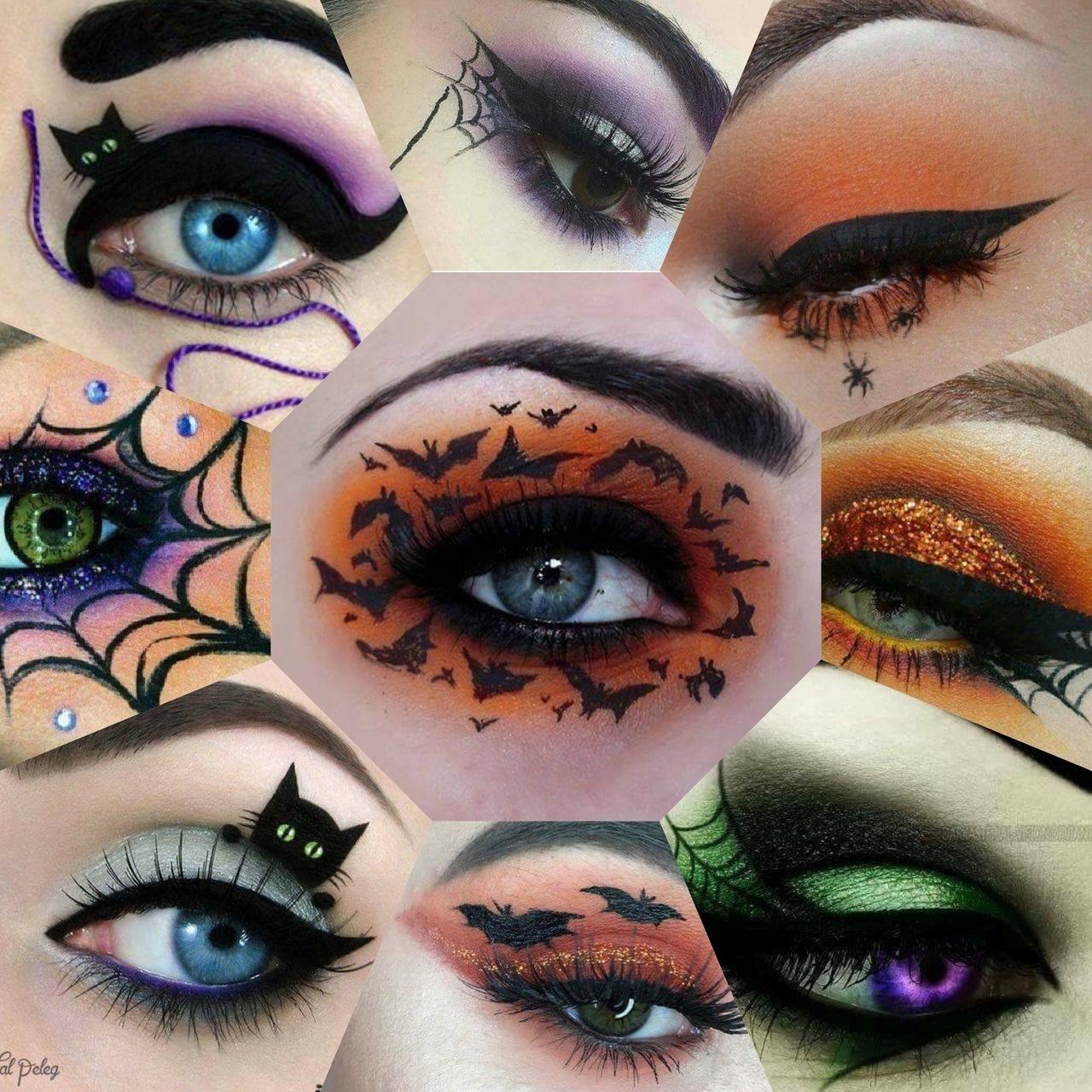 Top 10 Halloween Eyes Make Up On We Heart It