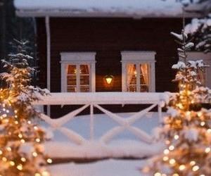 christmas, lights, and nordic image