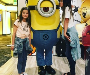best friends, kiss, and minion image
