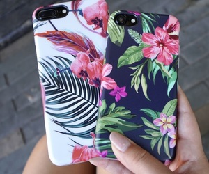 floral, phones, and phone cases image