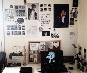 exo, room, and kpop room image