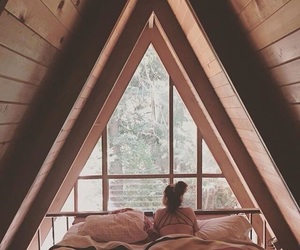 girl, bedroom, and view image