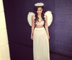 jhene aiko, angel, and beautiful image