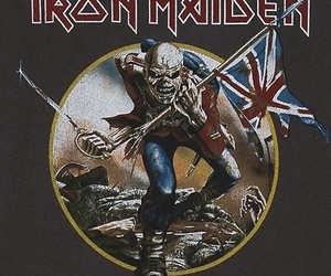 bands, heavy metal, and iron maiden image