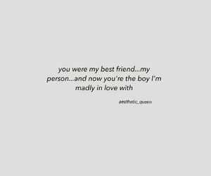 best friend, in love, and my person image