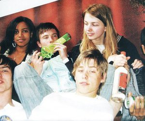 skins, cassie, and tony image