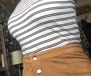 autumn, fashion, and skirt image