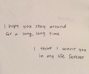 quotes, love, and forever image