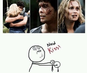 bellarke, the 100, and bellamy image