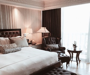 bedroom, classy, and interior image
