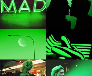 aesthetic, Collage, and green image