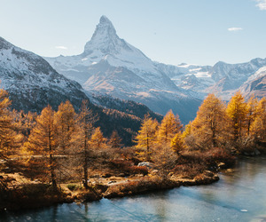 nature and mountains image