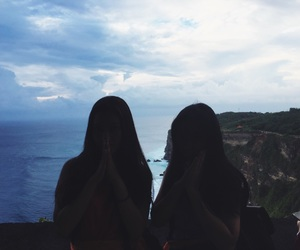 bali, indonesia, and sisters image