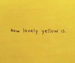 colour, yellow, and lovely image
