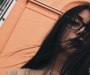 feed, glasses, and orange image