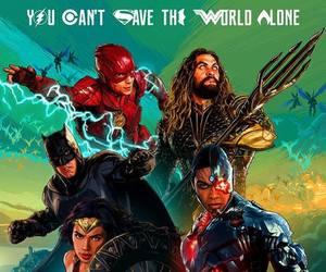 aquaman, batman, and justice league image