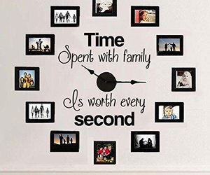 family, photos, and home decoration image