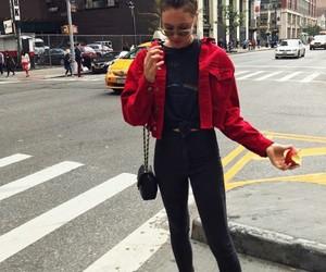 big city, fashion, and goals image