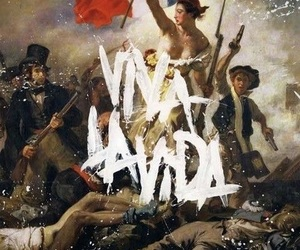 coldplay, viva la vida, and music image