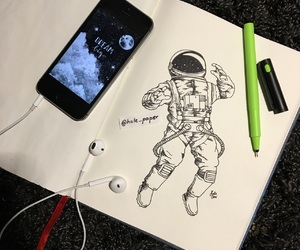 art, drawing, and Dream image