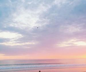 aesthetics, beige, and ocean image