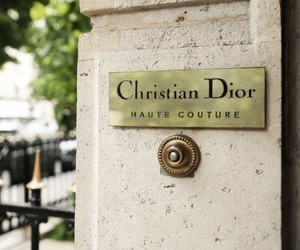 brand, luxury, and Christian Dior image