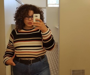 artsy, body positive, and curls image