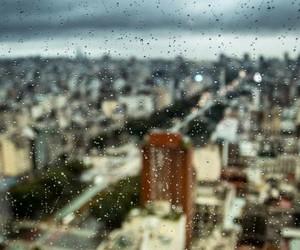 background, rain, and beautiful image