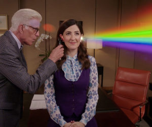 the good place, el lugar bueno, and serie image