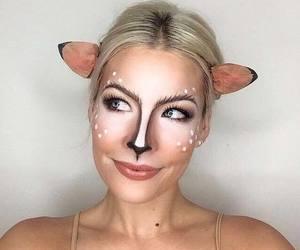 costume, deer, and Halloween image