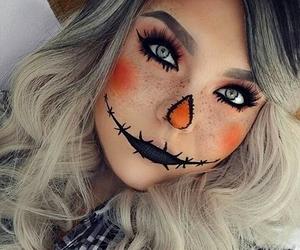 Halloween, makeup, and costume image