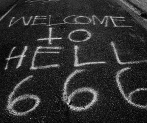 hell and 666 image