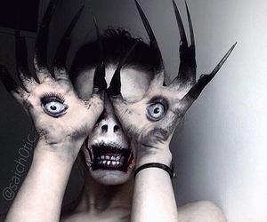 costume, demon, and Halloween image