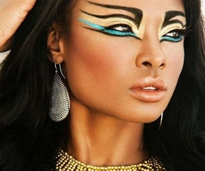 makeup, beauty, and egypt image