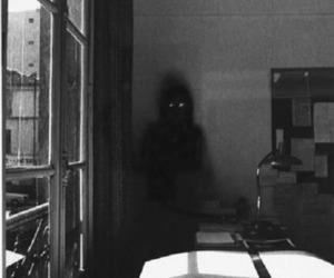 creepy, dark, and ghost image