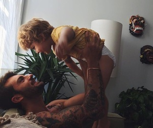baby, boyfriend, and children image