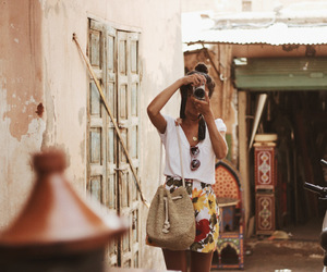 fashion, marrakesh, and photography image
