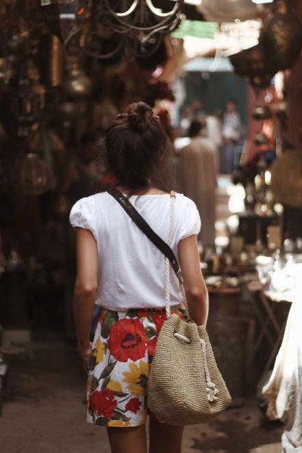 fashion, girl, and marrakesh image