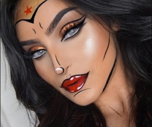 Halloween and superwoman image