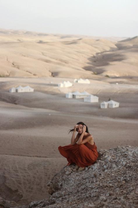 desert, fashion, and girl image