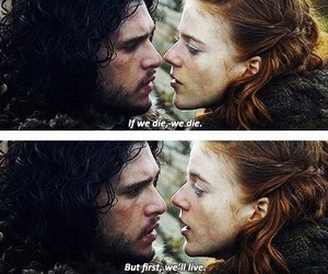 ygritte, got, and game of thrones image