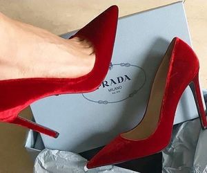 shoes, fashion, and Prada image