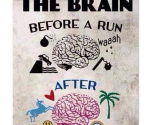 run, brain, and fitness image