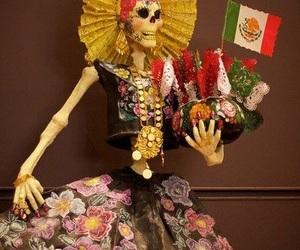 dia de muertos, catrina, and méxico image