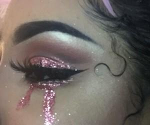 eyes, glitter, and style image